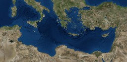 The Mediterranean -Realistic terrain- -10k x 5k- Minecraft Project