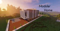 Modular Home by Highland_Clouds (With Download! Moving bed!) Minecraft Map & Project