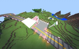 MCPE Gas Station Minecraft Project