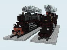 SJ Littera F + DSB Litra E Minecraft Project