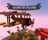 Basic Bi-Plane - Plot Build #2 🌙 Minecraft Project