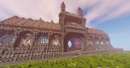 Survival Galaxy new epic castle spawn Minecraft Project