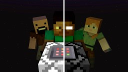 Steve and Herobrine 1.12.x Minecraft Map & Project