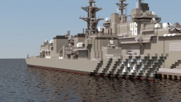 JMSDF Takanami-class destroyer Minecraft Project