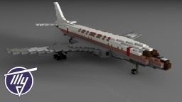 Tupolev Tu-104 Camel | Czehoslovak Airlines | Scale: 1,5:1 Minecraft Project