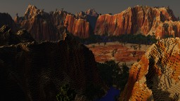 Desert Terraforming 2000X2000 Minecraft