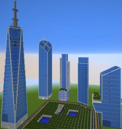 New World Trade Center Complex | 9/11 16th anniversary special - LF7 Minecraft Map & Project