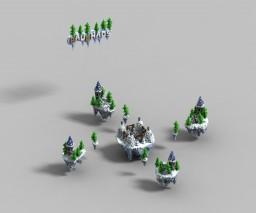 Bauchaos Schnee-Bedwars + Download Minecraft Project