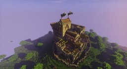 Leuwenhof Castle [Medieval Castle] [with Download] Minecraft Map & Project