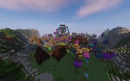 Odym, Blue Lantern Planet, JusticeCraft Server Build Minecraft