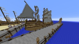 Sea Battle Golden Bay Minecraft Map & Project