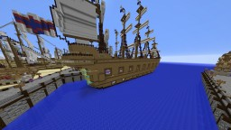 Battleship Nine Cloud Minecraft Project