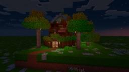 Survival Ready Terrarium house (modded) Minecraft Blog Post