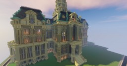 Courthouse Structure - Vigo County Courthouse, IN. Minecraft Project