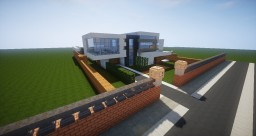Modern Town By ZifuHell (In-Progress) Minecraft Map & Project