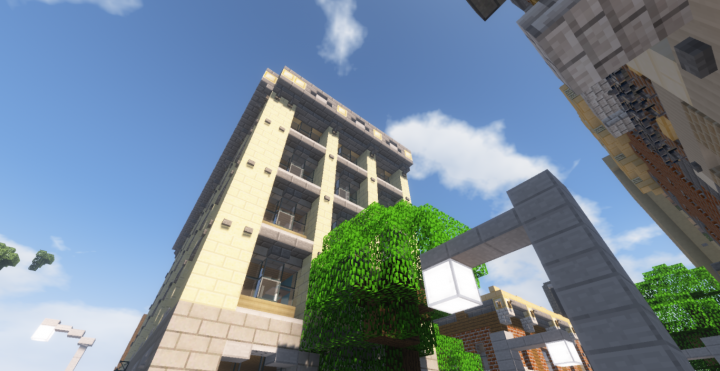 Greenfield 1920s Apartment In Eaglepoint Minecraft Project