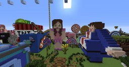 HEAD HUNTER THEME PARK [Featuring Games, Rides, Statues, Shops, and HEADS!] Minecraft Project