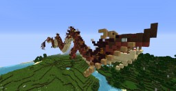 Japanese Dragon Minecraft Project