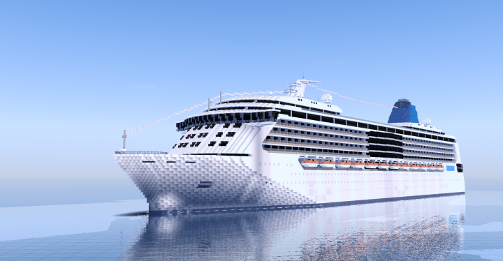 Queen Of The Seas Custom Cruise Ship Minecraft Project - Queen of the seas cruise ship