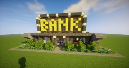 ~ Small Bank =-= Schematic Minecraft Project