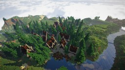Spruce Village Minecraft Map & Project