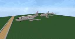 Boeing 737-200 to 737-800. Minecraft Project