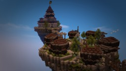 Airship and Floating island Minecraft Project
