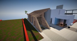 Modern Townhouse (A Shape or More) Minecraft Map & Project