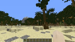 Lone Survivor tropical island Minecraft Map & Project