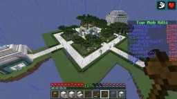 New SkyBlock spawn area Minecraft Project