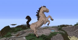 Horse in 3D Minecraft Project