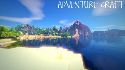 ADVENTURE CRAFT [1.11] ( 32x32 Realistic Resource Pack) Minecraft