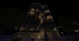 Some Victorian building. Minecraft Project