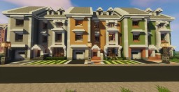 Townhouses (Stackable) Minecraft Project