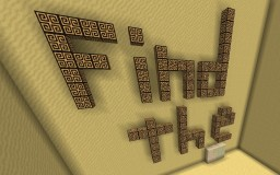 Find The Button: Egypt Edition (+Texture Pack) Minecraft Project