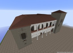 Replica Minecraft of the Palace of Saldañuela, Sarracín, Burgos, Spain. Minecraft Project
