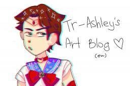 a normal art blog Minecraft Blog Post