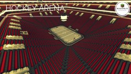 BIGGEST HOCKEY ARENA - Buildopolys Minecraft Map & Project