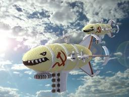 Kirov Airship by Tanker502/varvaruncik/MitQ [ChorusBuild] + Timelapse Minecraft Project
