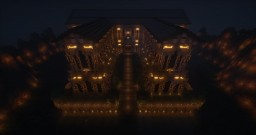 Golden Halls - The new to be spawn area of the Golden-Empire Economy server Minecraft Project