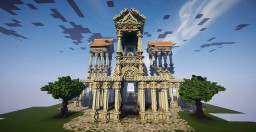 Medieval Temple Minecraft Project