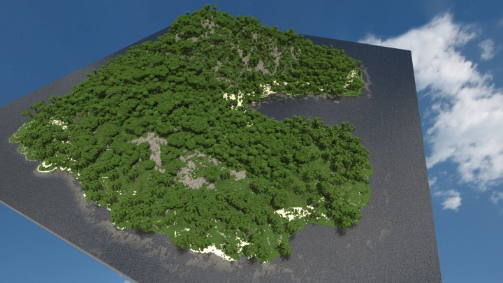 minecraft island maps