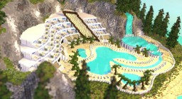 Island Pool Resort Minecraft