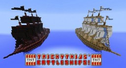 TrickyThijs Battleships Rebuilt Minecraft Project