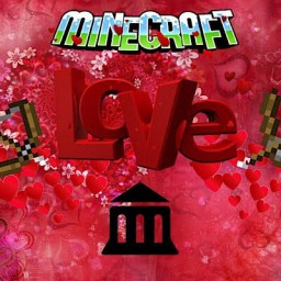 (For: Pat & Jen) Love Town- Valentines Day Adventure Map (1.12+ Recommended) Minecraft