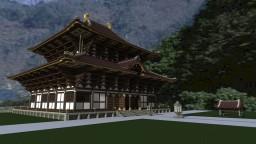 Todaiji pagoda Minecraft Map & Project