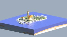 Mediterranean Lighthouse Island Minecraft Map & Project