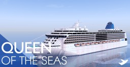 Queen of the seas (Custom cruise ship) Minecraft Project