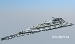 Resurgent-Class Star Destroyer/Finalizer Minecraft