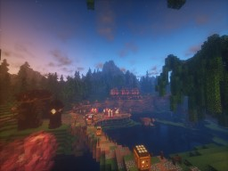 Rosewind- The Town of Serenity Minecraft Map & Project